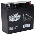 Interstate Battery, SLA1116, 12v 18Ah Sealed Lead Acid Battery, B1