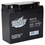Interstate Battery, SLA1116, 12v 18Ah Sealed Lead Acid Battery, B1