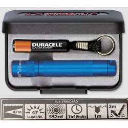 Maglite LED Solitaire Gift Box, J3A112, Blue