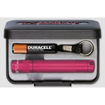 Maglite LED Solitaire 1AAA Gift Box, J3AKY2, 160-233, Pink