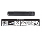 Maglite Incandescent Solitaire Flashlight, K3A016, Black