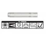 Maglite Incandescent Solitaire Flashlight, K3A106, Silver