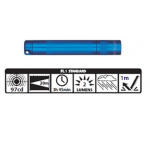 Maglite Incandescent Solitaire Flashlight, K3A116, Blue