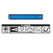 Maglite Incandescent Solitaire Flashlight, K3A116, 120-812, BLUE