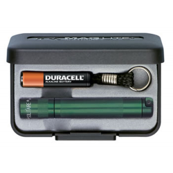 Maglite Incandescent Solitaire Gift Box, K3A392, Green