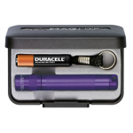 Maglite Incandescent Solitaire Gift Box, K3A982, *Purple