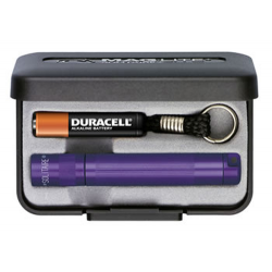 Maglite Incandescent Solitaire Gift Box, K3A982, 120-825, *Purple