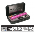 Maglite Incandescent Solitaire Gift Box, K3AKY2, 121-600, Pink