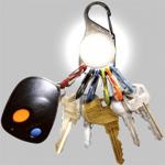 Nite Ize KeyLit LED Keychain Light KRL-03-02, White
