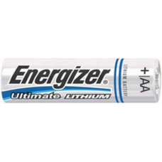 Energizer L91 (E2) AA 1.5V Lithium Ultimate Battery 4/card, L91BP4