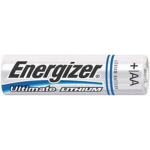 Energizer L91 (E2) AA 1.5V Lithium Ultimate Battery 12/Pack, L91SBP-12