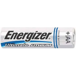 Energizer L91 (E2) AA 1.5V Lithium Ultimate Battery 8/Pack, L91SBP-8