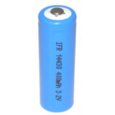 LiFePO4 3.2V 400 mah 4/5 AA Rechargeable 14430 Battery