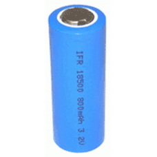 LifePO4 18500, 18490 3.2V 800mah Rechargeable Solar Battery