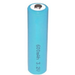 LiFePO4 AA 3.2V 14505/14500 Rechargeable Lithium Iron Phosphate Battery, LFP14505-600