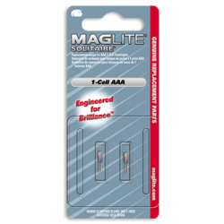 Maglite Solitaire Replacement Lamp LK3A001, 107-000-436, 2/Card