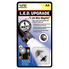 Nite Ize 1 Watt LED AA Mini Mag Upgrade II WHITE LRB2-07-1W