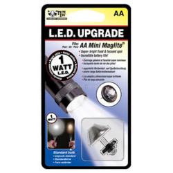 Nite Ize 1 Watt LED AA Mini Mag Upgrade II WHITE LRB2-07-1W