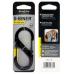 Nite Ize S-Biner Slidelock Locking Carabiner Size 4, Black Steel