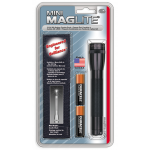 Maglite MiniMag 2 Cell AA Flashlight w/Holster M2A01H, 106-303, BLACK