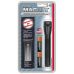 Maglite 2AA MiniMag Flashlight w/Holster, M2A01H, Black
