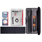 MagLite MiniMag 2 Cell AA Gift Kit, Black M2A01L-KIT