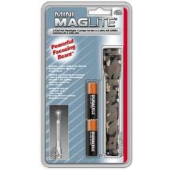 Maglite MiniMag 2 Cell AA Flashlight M2A026, 103-854, CAMO