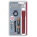 Maglite 2AA MiniMag Flashlight Combo Pack, M2A03C, Red
