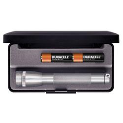 Maglite 2AA MiniMag Gift Box, M2A09L, Gray