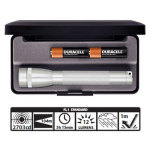 Maglite MiniMag 2 Cell AA Flashlight M2A10L, 103-867, SILVER, Gift Box