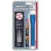 Maglite MiniMag 2 Cell AA Flashlight w/Holster M2A11H, 106-308, BLUE