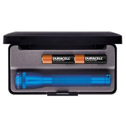 Maglite MiniMag 2 Cell AA Flashlight M2A11L, 103-868, BLUE, Gift Box