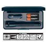 Maglite MiniMag 2 Cell AA Flashlight w/Knife M2A49L, 103-873, BLACK, Gift Box