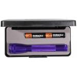 Maglite MiniMag 2 Cell AA Flashlight M2A98L, 103-871, PURPLE, Gift Box
