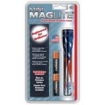Maglite MiniMag 2 Cell AA Flashlight w/Holster M2AAEH, 106-311, US FLAG