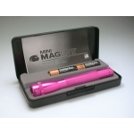 Maglite MiniMag 2 Cell AA Flashlight M2AKYL, 104-722, PINK, Gift Box