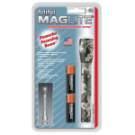 Maglite MiniMag 2 Cell AA Flashlight M2AMR6, 104-783, DIGITAL CAMO