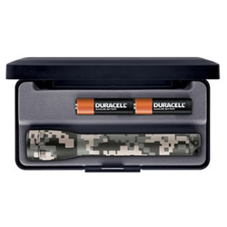 Maglite MiniMag 2 Cell AA Flashlight M2AMRL, 104-778, DIGITAL CAMO, Gift Box