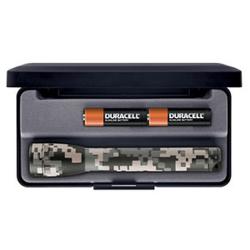 Maglite 2AA MiniMag Gift Box, M2AMRL, DM Camo