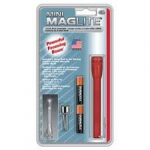 MagLite MiniMag 2 Cell AAA Flashlight M3A036, 116-566, RED