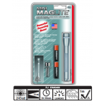 Maglite 2AAA MiniMag Flashlight, M3A096, Gray