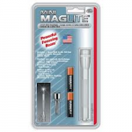 MagLite MiniMag 2 Cell AAA Flashlight M3A106, 116-568, SILVER
