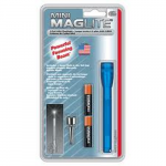 Maglite 2AAA MiniMag Flashlight, M3A116, Blue