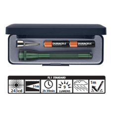 Maglite 2 AAA Incandescent Mini Mag Gift Box M3A392 Dark Green