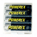Maha Powerex AA NiMH 2700mAh Rechargeable Batteries w/Holder, MH-4AA270