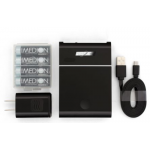 Maha PowerEx Compact USB Charger w/4 AA Imedion batteries, MH-C204U-04IGS
