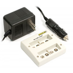 Maha 9V NiMH Charger, 4 Independent Channels, MH-C490F
