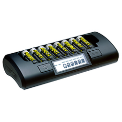 Maha PowerEx AA/AAA NiMH/NiCd 1-Hr Rapid Charger w/ Battery Casem, MH-C801D