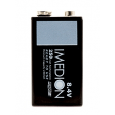 Maha PowerEx IMEDION Precharged 8.4V 250mAh NiMh 9V Form Rechargeable Battery, MHR84VI