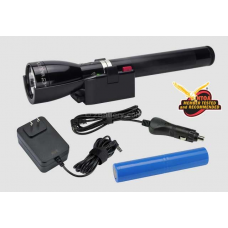 Maglite ML150LR LED Rechargeable Flashlight System, Classic Black